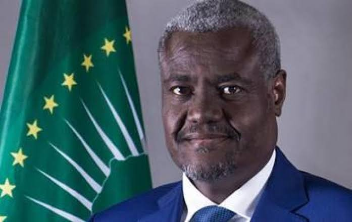 Chairman of the African Union commission Mr Moussa Faki Mahamat